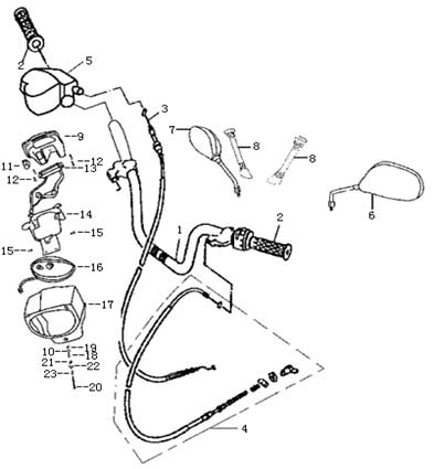 Pocket Bike Wiring