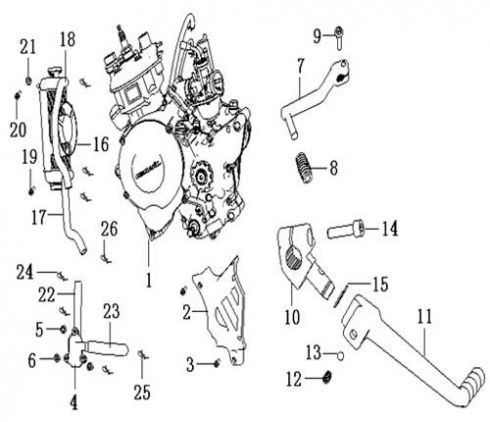 2013 Gtx Moped Diagram